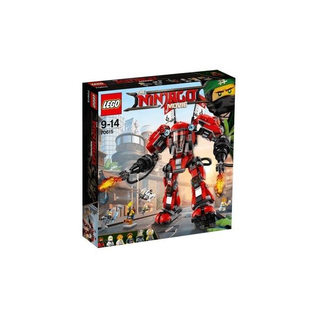 Конструктор LEGO NINJAGO Огненный робот Кая 70615-L