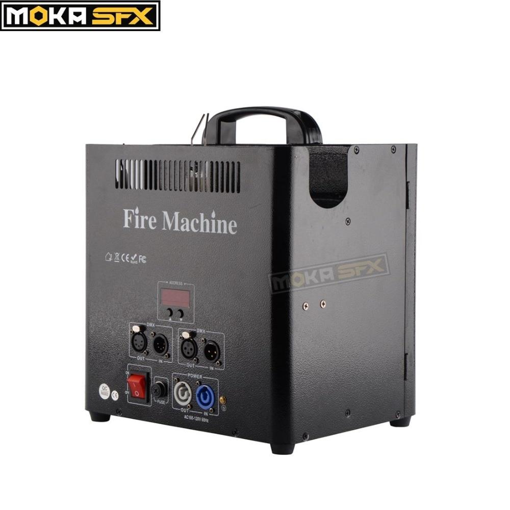 US Stock Triple Way Fire Flame Machine Stage Effect Equipment DMX Control Spray Fire Machine For Nightclub Club Party Decoration