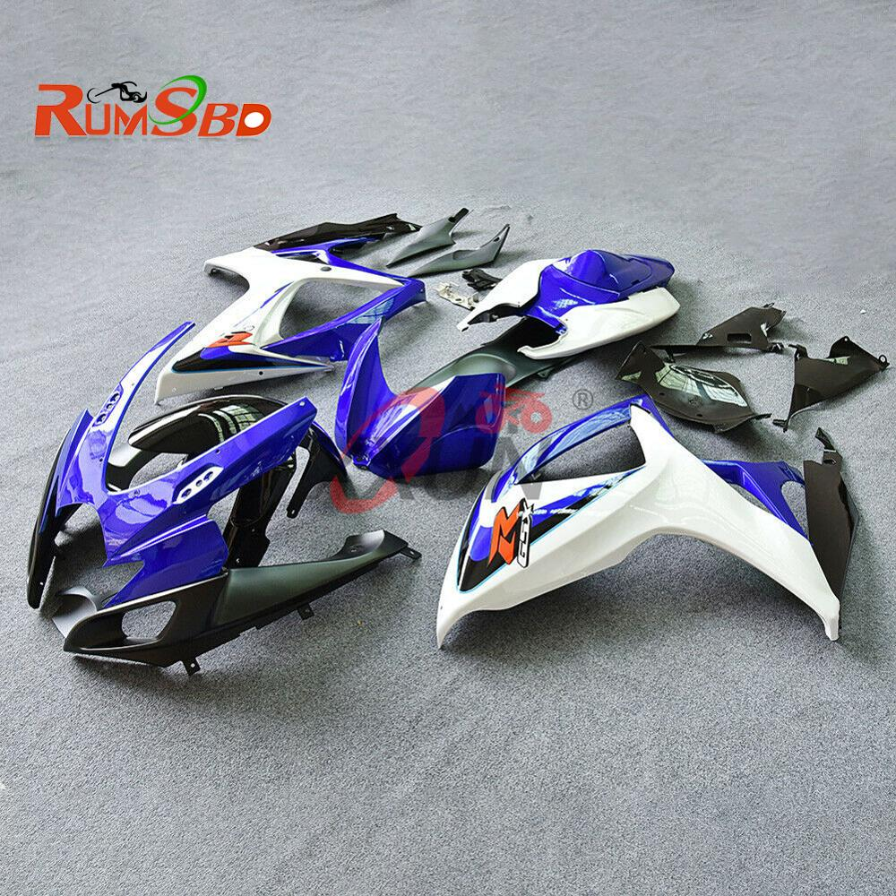 Complete Fairing for Suzuki GSXR GSX-R 600 750 GSXR600 GSXR750 2006 2007 K6 Accessories Injection Molding Bodywork Kit Plastic