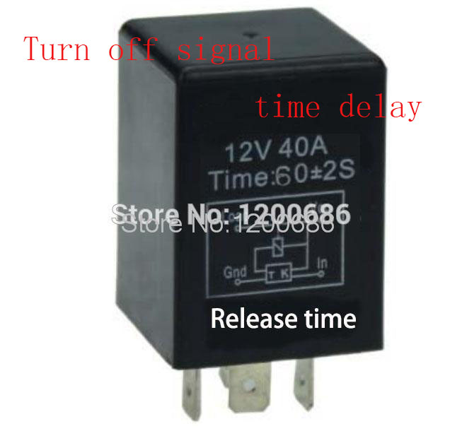 цена на 1 minutes delay off after switch turn off Automotive 12V Time Delay Relay SPDT 60 second delay release off relay