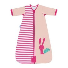 The Gro Company Betty Bunny Pink baby kid sleeping bag pure cotton 2.5 Tog  0-6 /6-18 /18-36 months