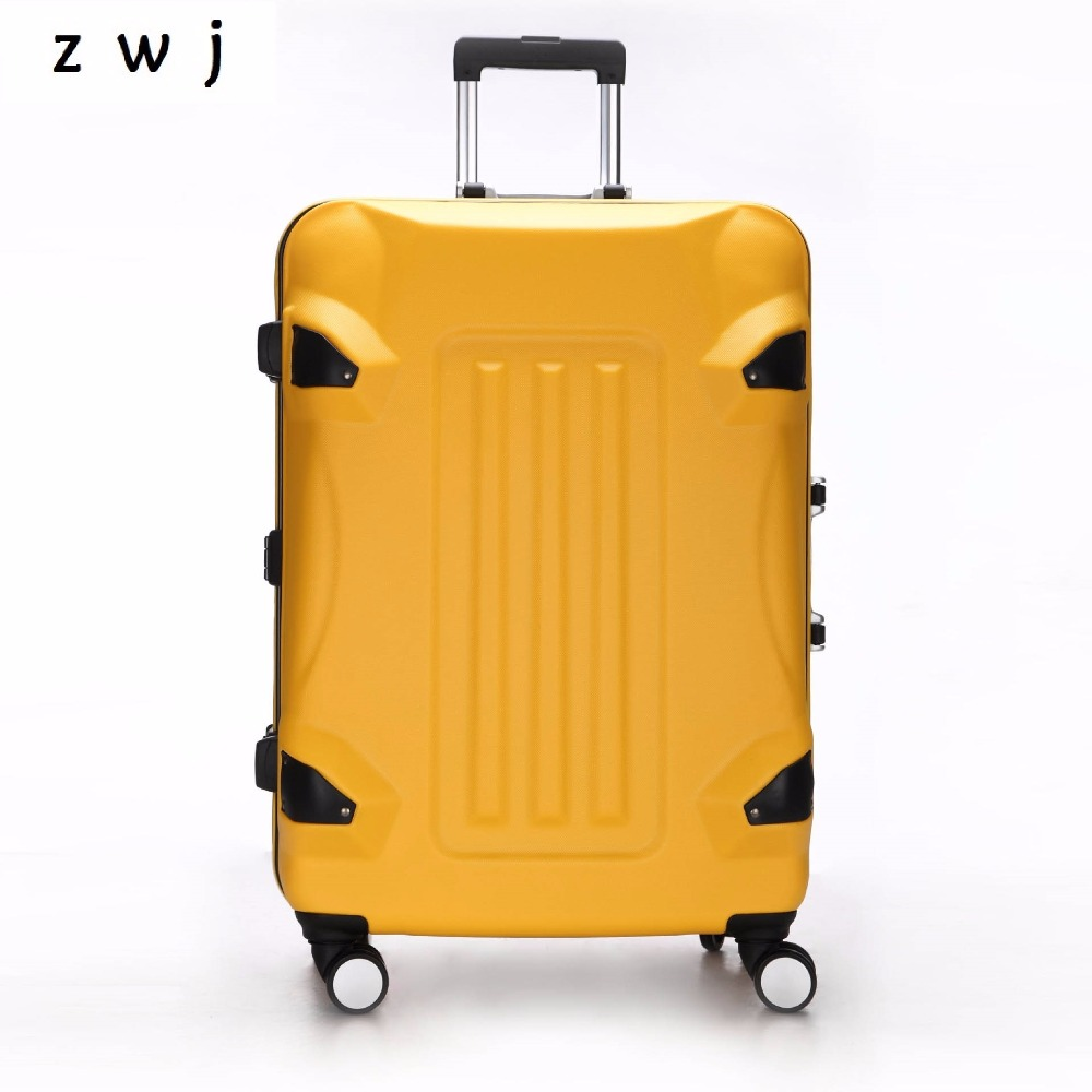 20 24 28 inch Rolling luggage PC+ABS suitcase spinner Boarding box Trolley Travel Hardside Luggage20 24 28 inch Rolling luggage PC+ABS suitcase spinner Boarding box Trolley Travel Hardside Luggage