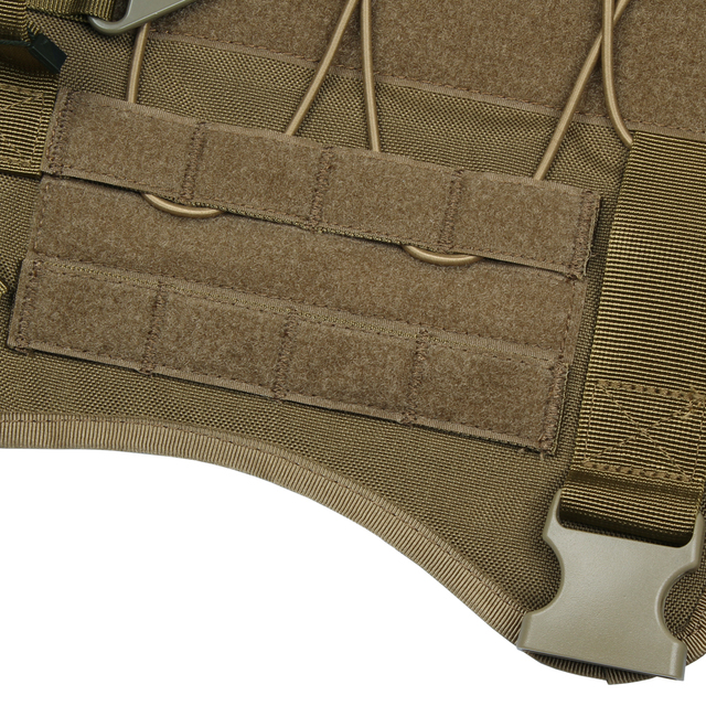 SPANKER Tactical Molle Dog Vest  with 2 pouches and Kettle bag