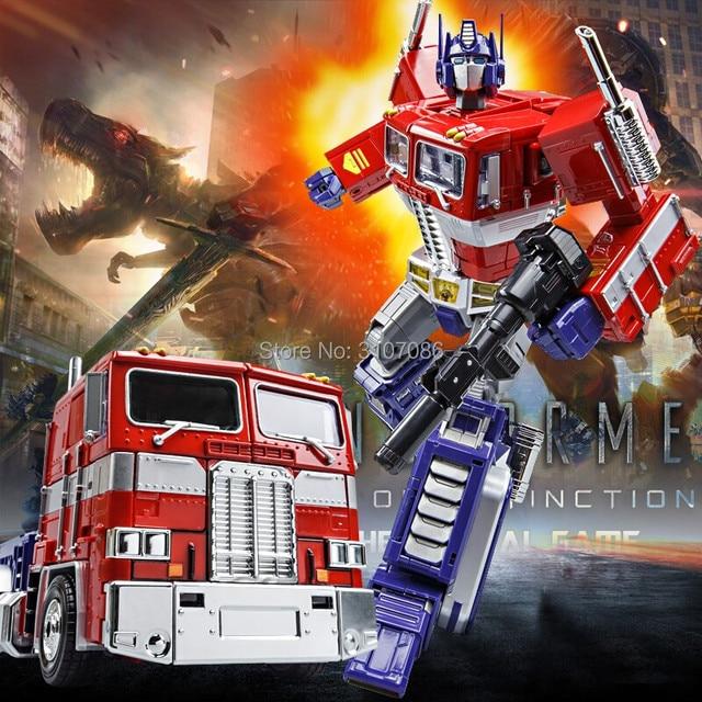 ווי ג 'יאנג MPP10 MPP-10 MP10 סגסוגת שינוי OP G1 דמות קרוואן משאית מיכל מפקד Diecast מופת Oversize צעצוע