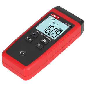 Image 5 - UNI T UT373 Mini tachymètre; Tachymètre numérique sans contact, mesure de régime/mesure de comptage, indication de surcharge