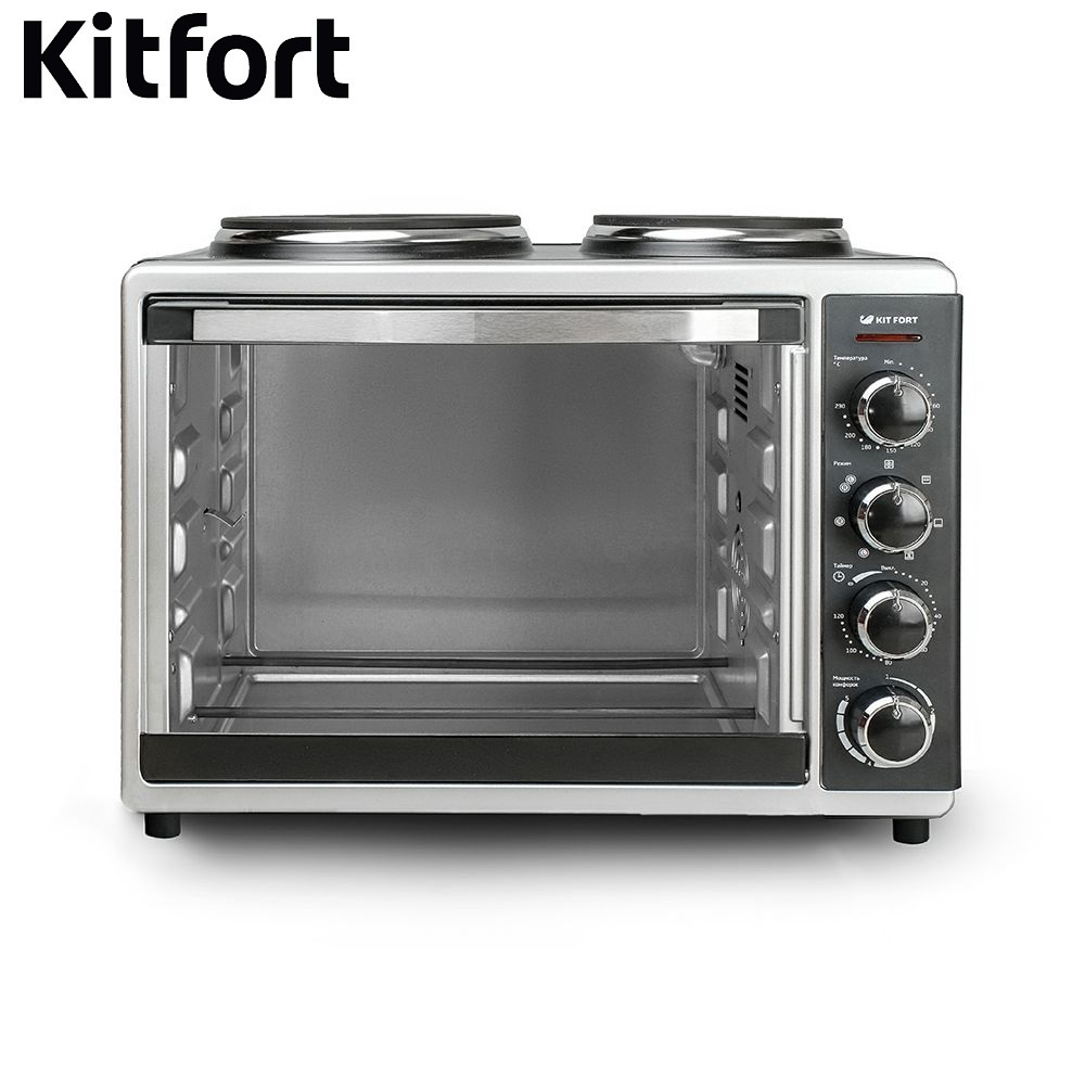 Brass cabinet Electric Oven KITFORT KT-1703 Mini Oven Household appliances for kitchen Microwave oven Kitchen microwave oven parts timer vfd35m106iieg with 6 pins