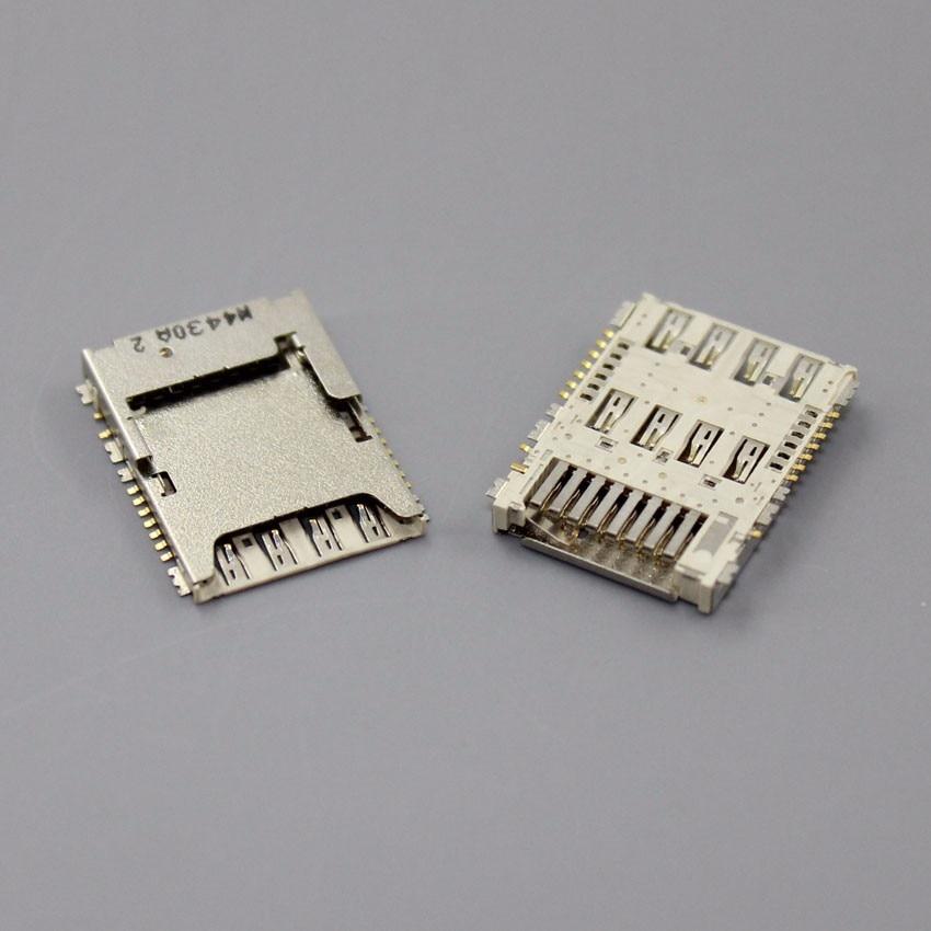 20PCS for SAMSUNG Galaxy S5 G900 G900A G900F G900H G900X I9600 SIM Card Slot Reader Holder Connector SIM Card Socket,KA-185