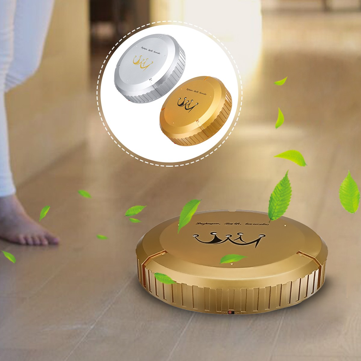 Gold&Silver home Automatic Smart Floor Clearner Cleaning Robot Mopping Sweeper Machine Household Appliances тарелка gold space home