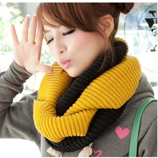 OL Лидер продаж модные зимние теплые кольцо шарф Lic для женщин Человек Шерсть Шаль средства ухода за кожей Шеи обёрточная бумага мягки
