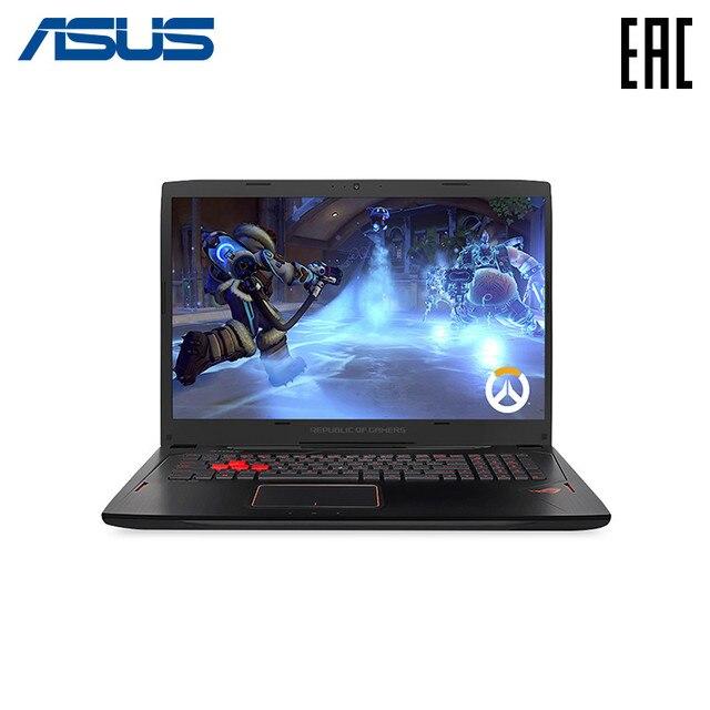 """Ноутбук Asus ROG GL702VM-GC035T 17.3 """"/i7-6700HQ/8 ГБ/1 ТБ/GTX1060/noODD/Win10/черный (90NB0DQ1-M00820)"""