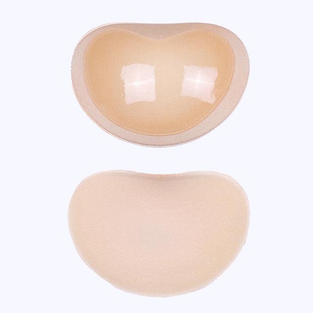 Bikini Push Up Padded Swimsuit Bikini Small Bust Thicker Breathable Sponge Bra Pad Invisible Paste Padding