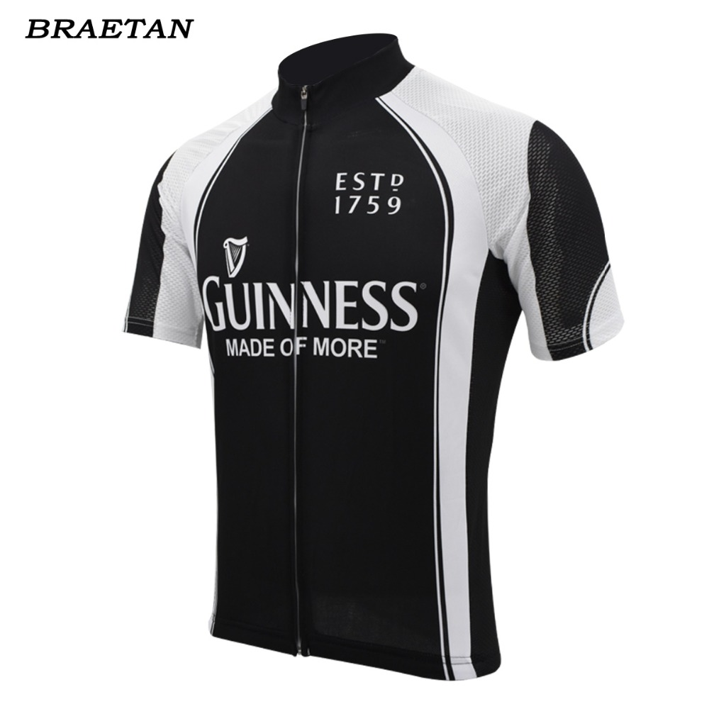 gunness cycling jersey summer short sleeve black beer bike wear black jersey  road jersey cycling clothing 4e97b62c9