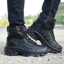 8cd79022 Mężczyźni Delta zewnątrz Sportowe obuwie turystyczne podróży wojskowy  szturmowe taktyczne buty Sneakers mężczyzna bojowe sił specjalnych