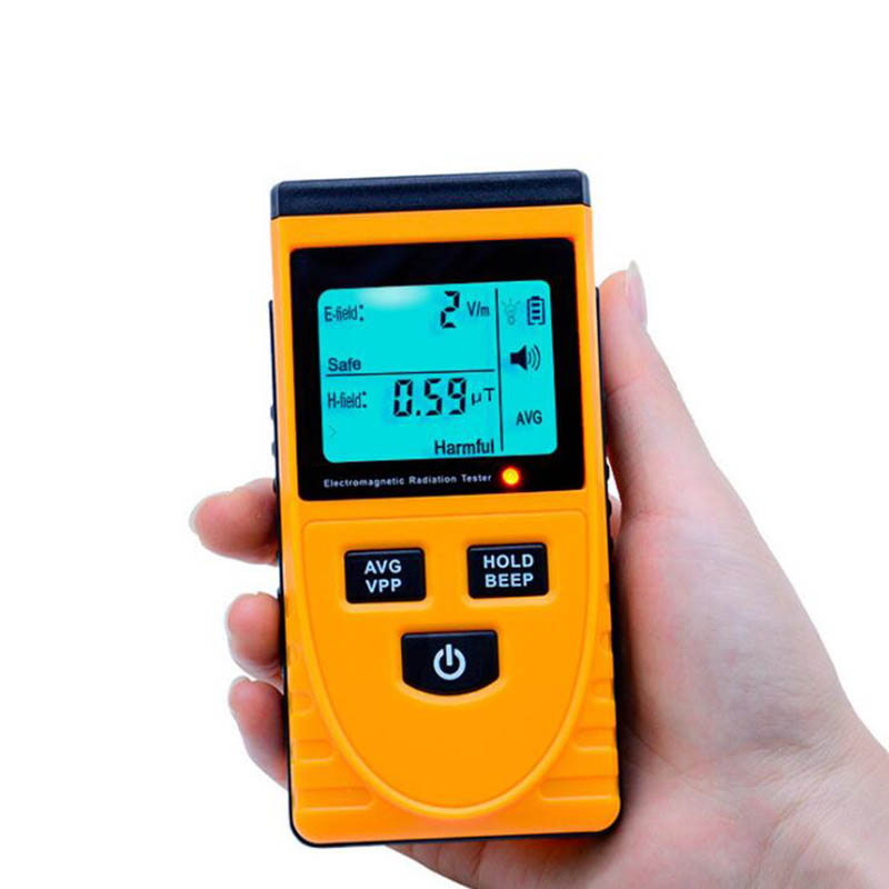 GM3120 elektromagnetische strahlung mess instrument Hause strahlung tester detektor display dual handy