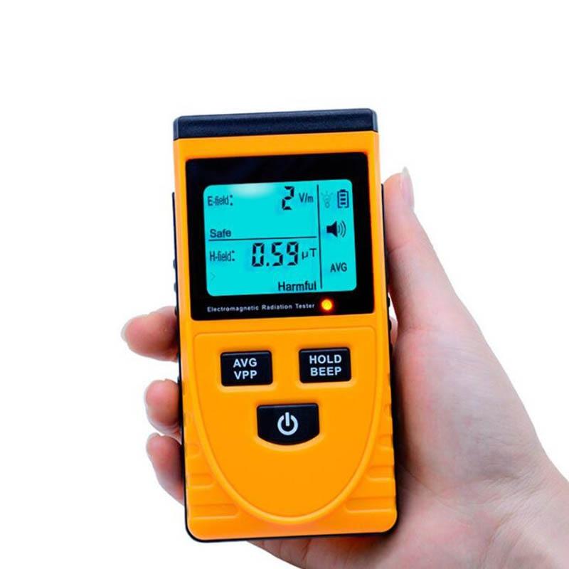 GM3120 elektromagnetische strahlung mess instrument Hause strahlung tester detektor display dual handy