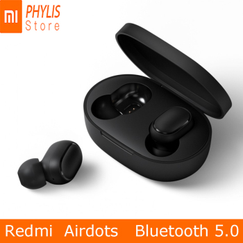 Original Xiaomi Mi Redmi Airdots Wireless Earphone Bluetooth 5.0 Headset Waterproof Earphones Earbuds With Mic For xiomi IOS