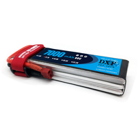 DXF 11.1V 7000mAh 60C 120C RC 3s Lipo battery for RC Traxxas Car Boat Helicopter Rremote Control Hig rate 3s Batteria