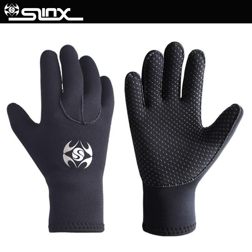 3mm Neoprene Men Women Warm Scuba Diving Gloves Windsurfing Surfing Spearfishing Snorkeling Boating Fishermen Gloves Cold-proof