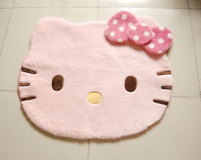 Vloerkleed Kinderkamer Roze : Grote cm zachte hello kitty roze deurmat floor mat