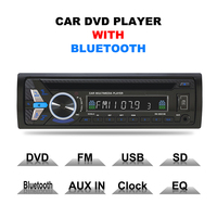 LCD Car MP3 Player Bluetooth Electronics 12V DVD/CD Player Audio Player In dash Car Stereo FM Radio with USB / TF Card Port