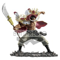 Original banpresto one piece OP Whitebeard Edward Newgate 20th oversea limited action figure PVC model Figurals Dolls