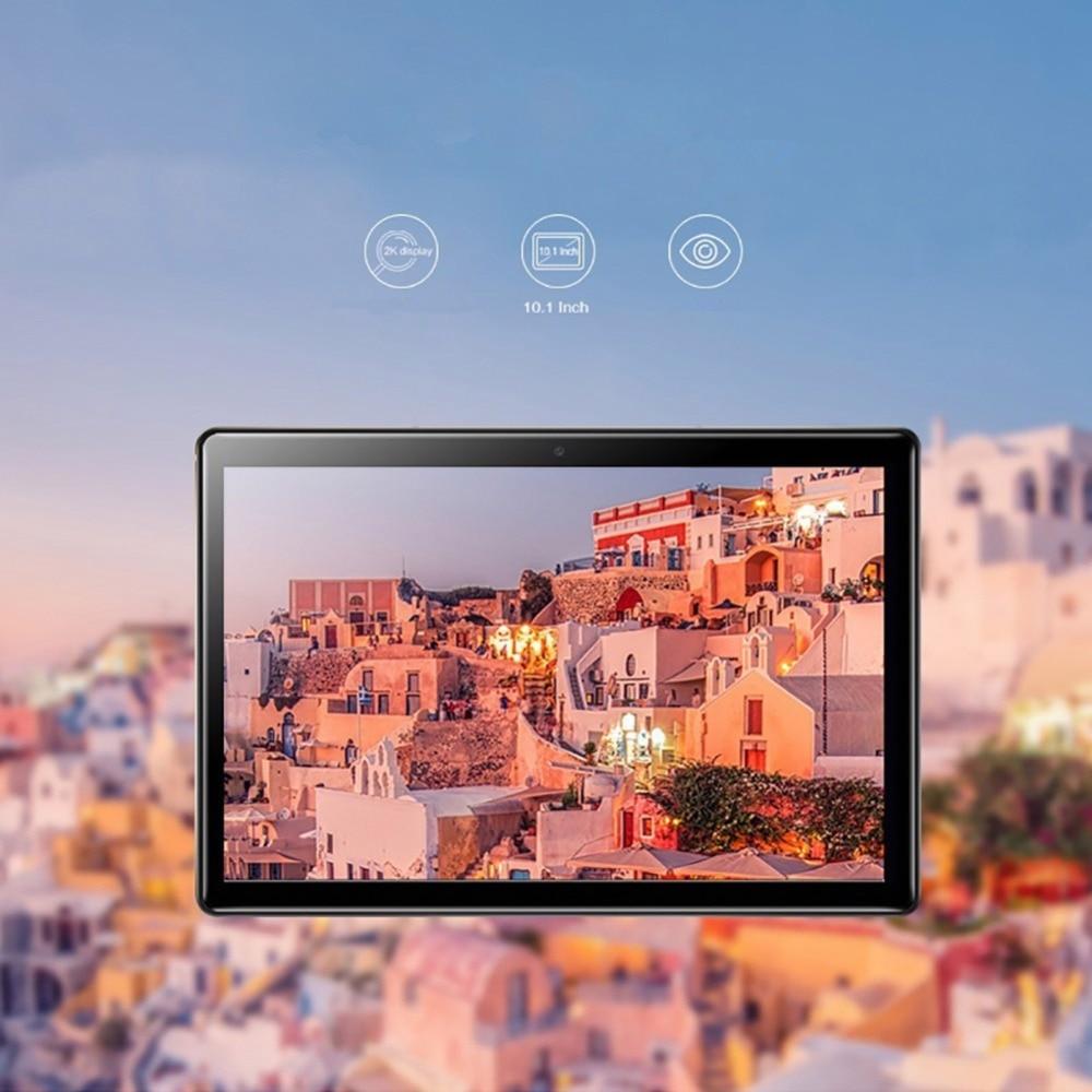 2019 nouveau 10 pouces tablette PC 3G Android 9.0 Octa Core 6 GB RAM 64 GB ROM WiFi GPS Bluetooth 10.1 IPS 1280 800 double carte SIM MTK6753