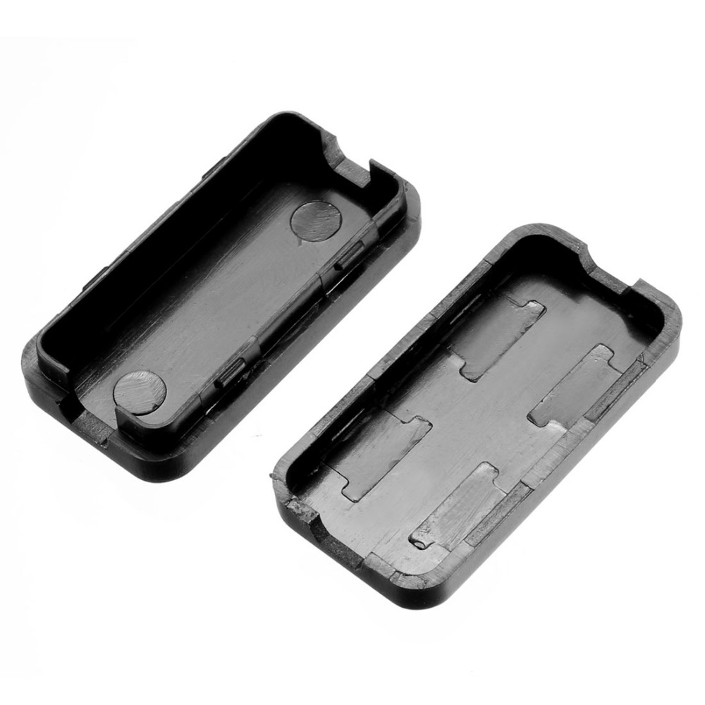 Uxcell Black Color Electronic Plastic DIY ABS Junction Box Enclosure Case 40 x 20 x 11mm 1 57 x 0 79 x 0 43inch 1Pcs in Wire Junction Boxes from Home Improvement
