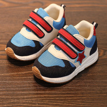 New 2018 European canvas cool toddler baby first walkers high quality fashion baby sneakers Lovely boys girls baby shoes