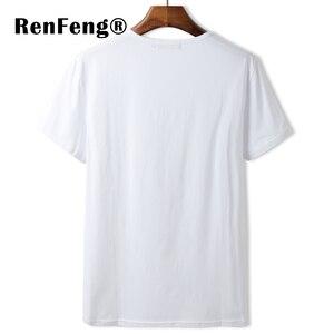 Image 5 - High Quality O V Neck Blank Black Cotton Basic T shirt Women Plain Simple T Shirt For Men Short Sleeve Cool Tops Hip hop Tees
