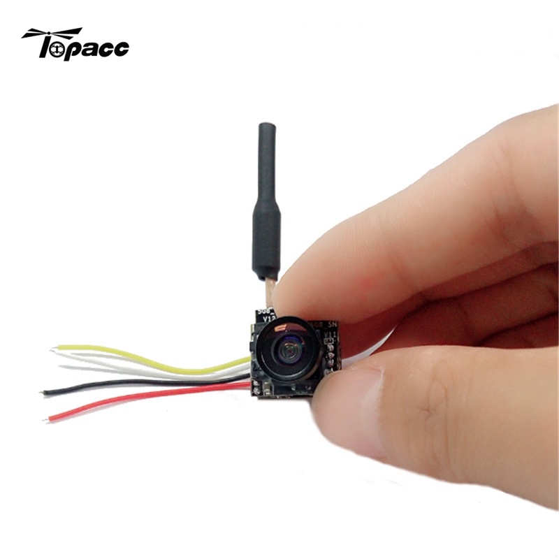 цена на Turbowing 5.8G 25mw 48CH FPV Transmitter 700TVL 1/4 Wide Angle OSD FPV Camera NTSC/PAL for RC Toys Drones Quadcopter Goggles