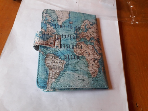 New Journey Women Travel Passport Holder ID Card Case Cover Credit Protector photo review