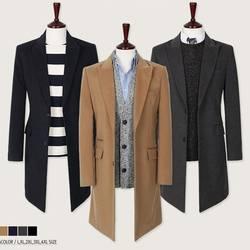 Новые зимние пальто Для мужчин длинный тонкий кардиган пальто ветровка