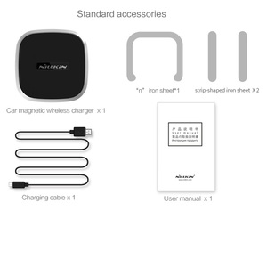 Image 5 - Nillkin Magnetic Car Wireless Charger Holder for iPhone 11 Xs Max Xr X for Galaxy S10 S9 Plus for Xiaomi Mi 9 for Huawei 5W