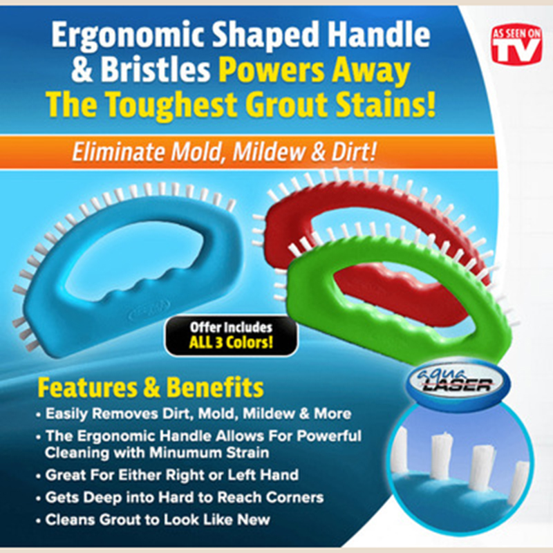1PC Grout Hero Grout Cleaning Brush Kitchen Corner Cleaning Brush Door Windows Angle Gap Groove Brushes