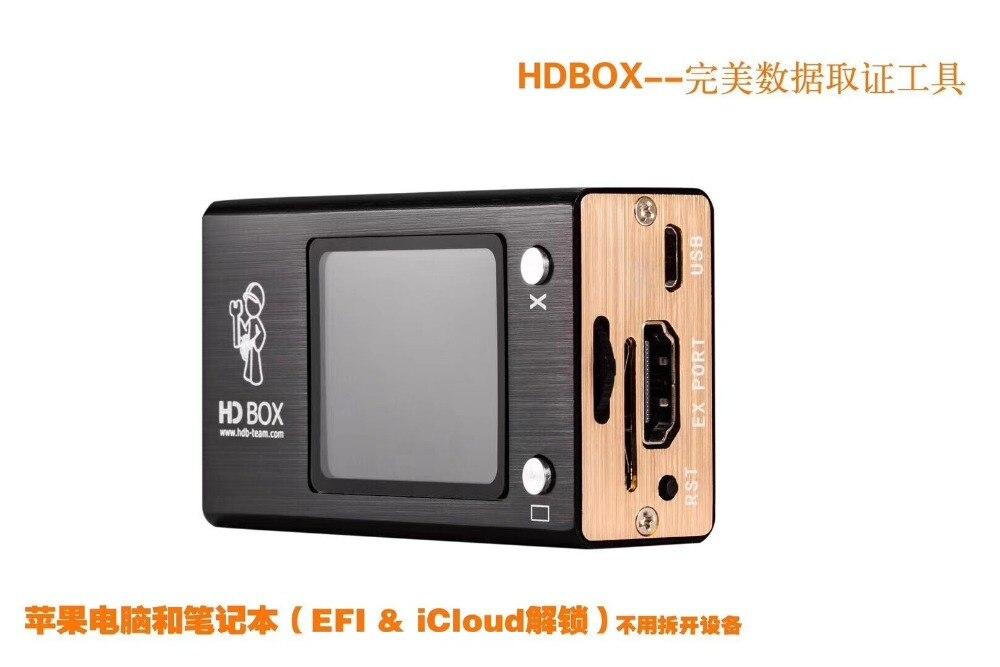 Boîte FEORLO HD nouveaux outils pour déverrouiller les codes pin sauvegarde/déverrouillage du code pin, mot de passe pour Android iphone ipad EFI