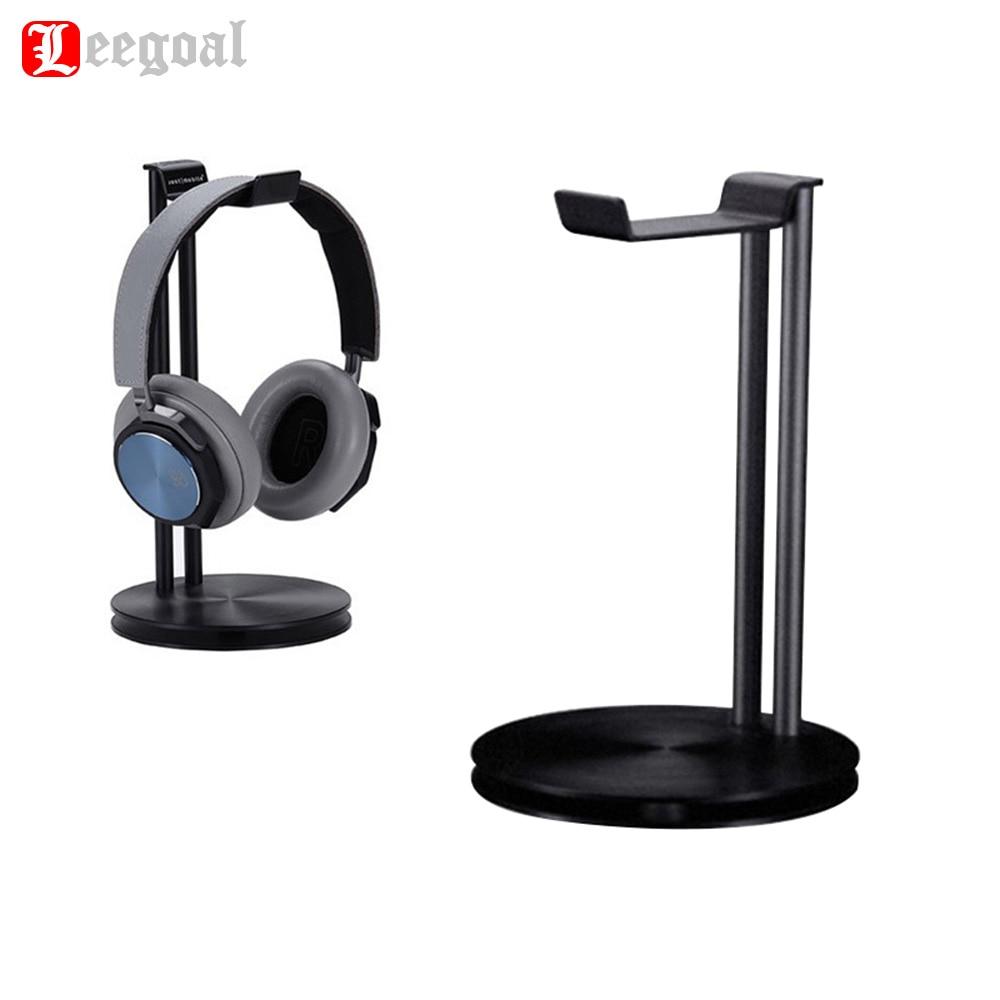 Leegoal Universal Headphone Headset Aluminum Alloy Stand Holder Fashion Desktop Storage Rack Holder Bracket For Headphones стоимость