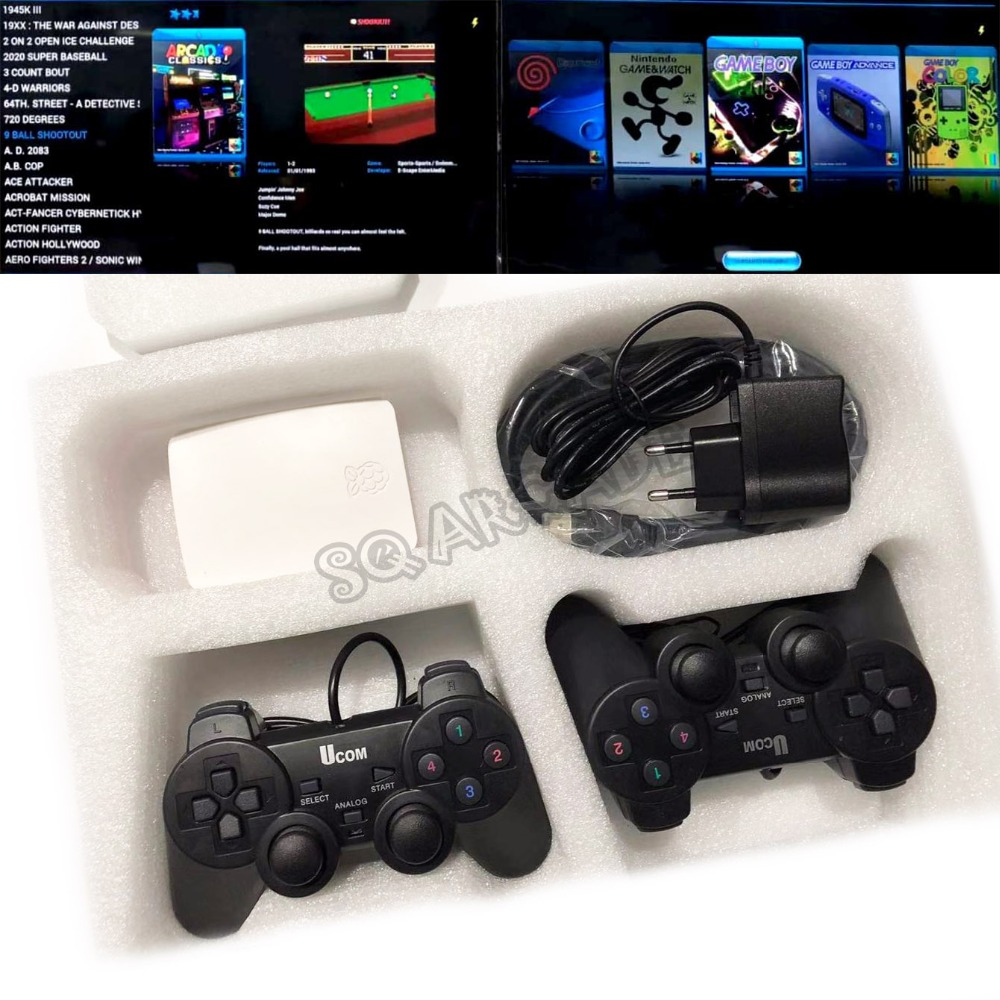 Multigame Arcade 16000 in 1 multi kinds emulators Sega CD -Sega 32x -Sega Master System -Sega Game Gear -Sony Playstation tec image