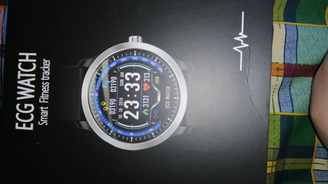 RUNDOING N58 ECG PPG smart watch with electrocardiograph ecg display,holter ecg heart rate monitor blood pressure smartwatch-in Smart Watches from Consumer Electronics on AliExpress