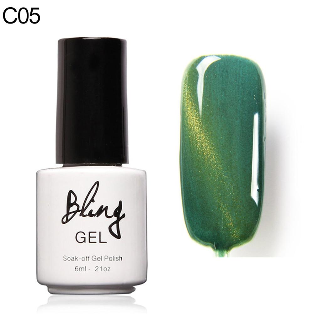 Esmalte de uñas Hermosa Térmica Moda Cambio de Color Manicura Gel ...