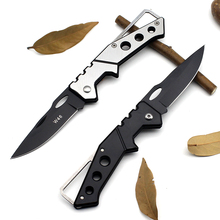 Mini Portable Knife Fold Camping Tactical Folding Pocket Ring Outdoor Tools Hunting Edc Stainless Key 2017 Survival Real Rushed