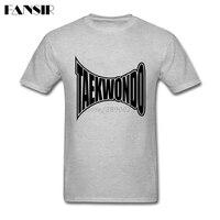High Quality Shirts Men S Custom Cotton Short Sleeve Taekwondo Logo Group Clothes Men T Shirt