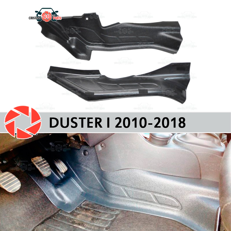 Protective Plate Cover Of Inner Tunnel For Renault Duster 2010-2018 Trim Accessories Protection Carpet Decoration Car Styling