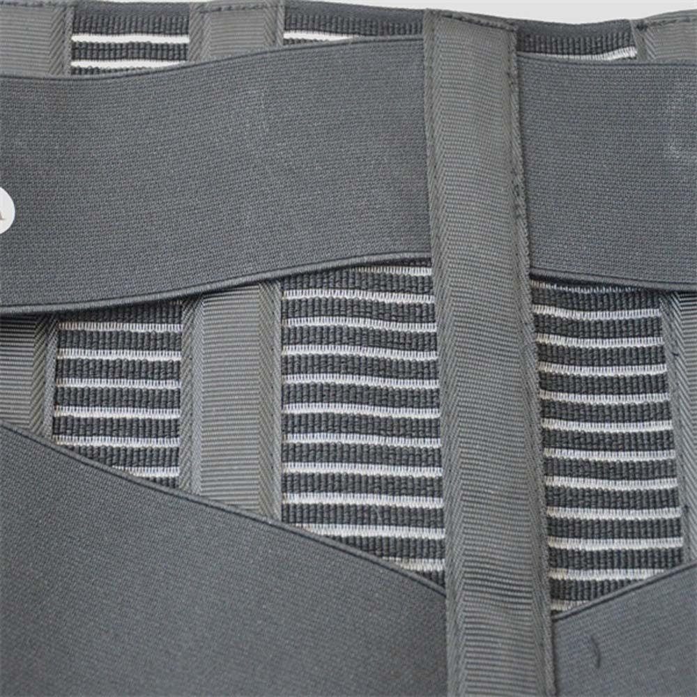 Unisex Justerbar Elastiac Waist Support Bælte Lumbar Back Støtte - Helsevesen - Bilde 4