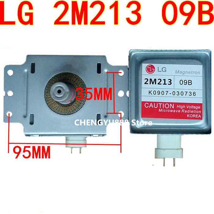 2m213 Microwave Oven Magnetron for LG 2M213-09B 2M213-09B02m213 Microwave Oven Magnetron for LG 2M213-09B 2M213-09B0