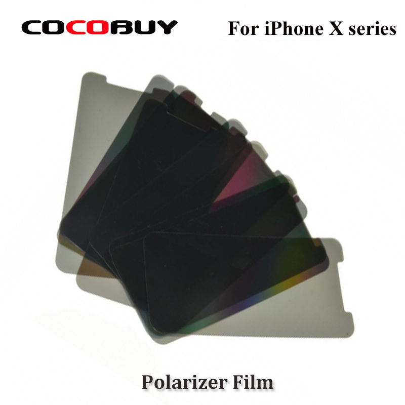 Novecel-10PCS-LCD-Polarizer-Film-For-iPhone-X-Polarization-Polarized-Light-Film-Replacement