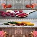 Else rojo amarillo verduras verde camino de mesa de tela decoración para cocina comedor boda cumpleaños 40X140CM