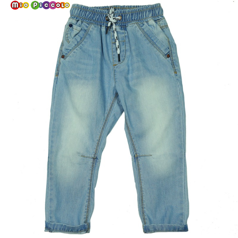 Jeans on an elastic band for the boy children's jeans 2019 jeans summer children's wear jeans for the boy(China)