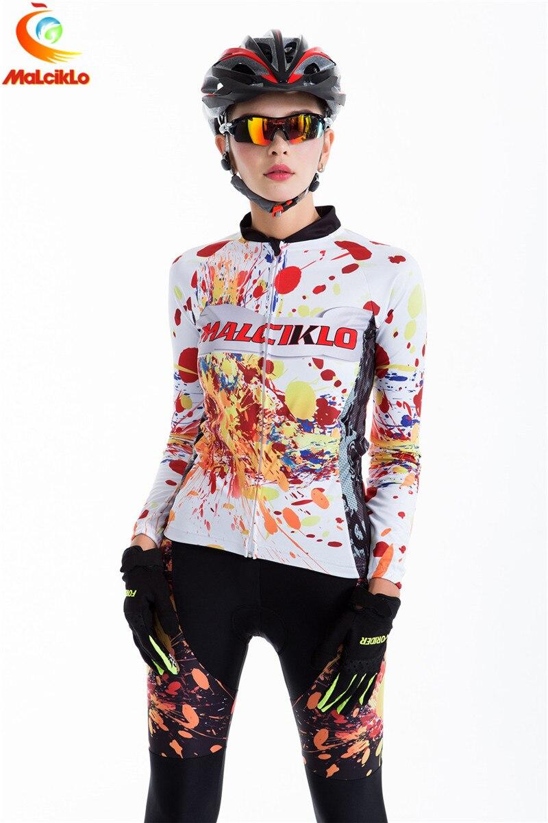 Malciklo 2018 femmes équipe cyclisme maillots uniformes ciclismo conjunto hombre sport bh vélo cyclisme vêtements pantalons ensemble