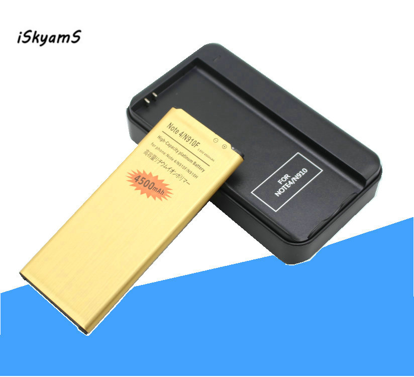 iSkyamS 1x EB BN910BBE Note4 Gold Battery + Charger for Samsung Galaxy Note 4 N910H N910A N910C N910U N910F N910X N910V N910P-in Mobile Phone Batteries from Cellphones & Telecommunications on Aliexpress.com | Alibaba Group