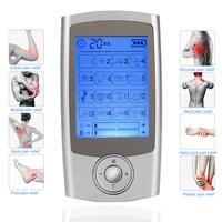 TENS EMS Massager Muscle Stimulation Electronic Mini Personal nerve stimulator electro stimulation therapy machine pain relief